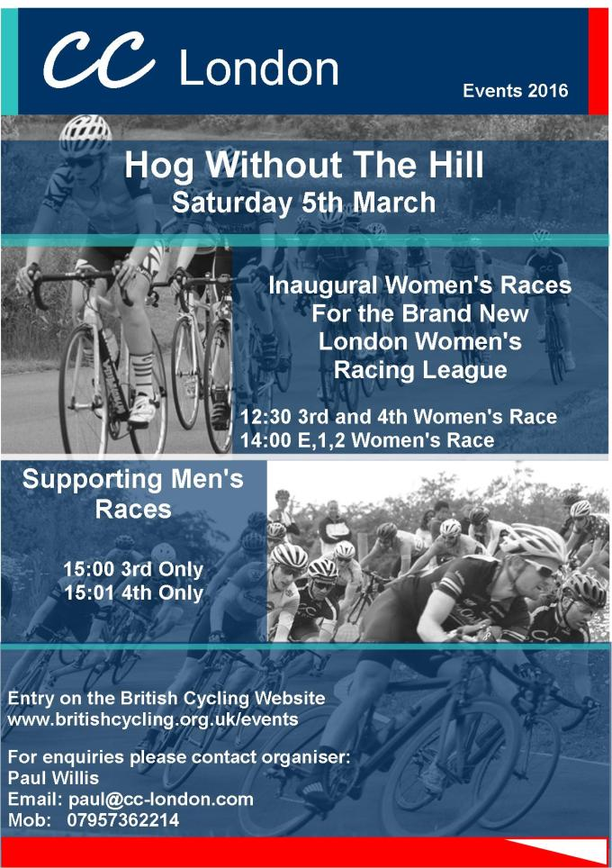 CC London Races March 2016