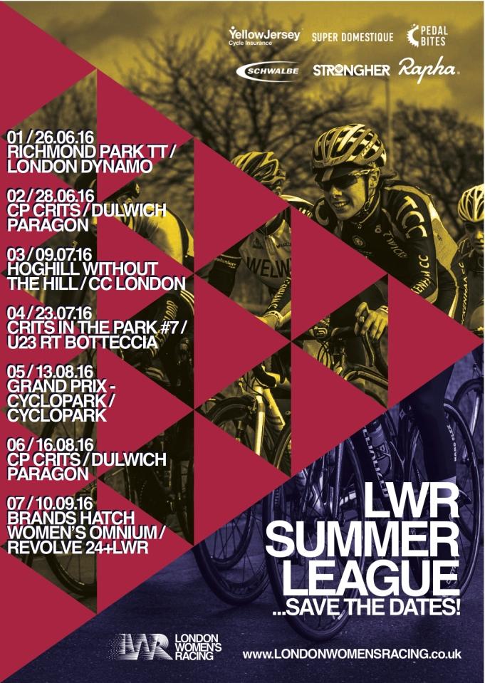 LWR Summer Calendar
