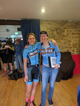 Road Bike Cat winner Jacintha Hamilton-Love