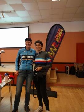 Caroline Reuter Road Bike Vet Winner