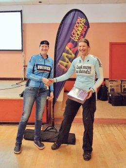 Elise Sherwell A1 winner & overall event winner