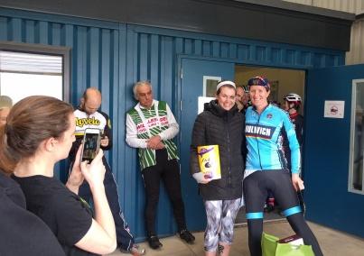 Kate Allan A1 winner